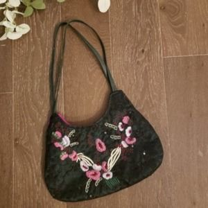 Chan Luu Embroidered Shoulder Bag